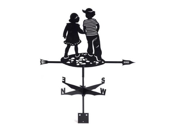 Флюгер BORGE «Мальчик и девочка»