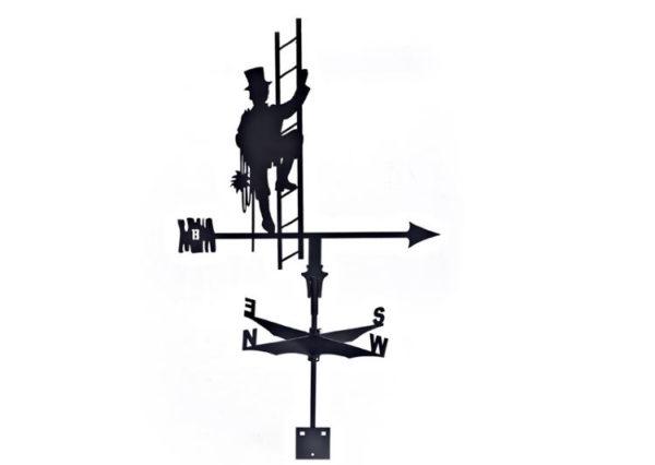 Флюгер BORGE «Трубочист»