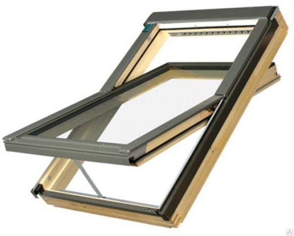 Мансардное окно FAKRO LUX FTT U6 Thermo