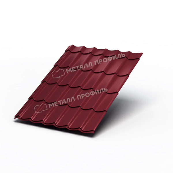 Металлочерепица Ламонтерра Colorcoat Prisma PUR50 RAL3005