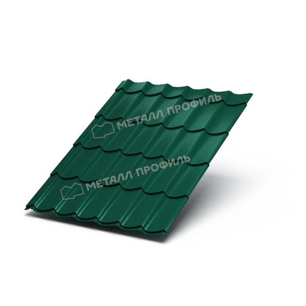Металлочерепица Ламонтерра Colorcoat Prisma PUR50 RAL6005