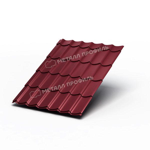 Металлочерепица Ламонтерра Polyester RAL3005